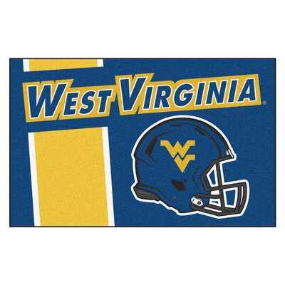 NCAA West Virginia University Starter Doormat