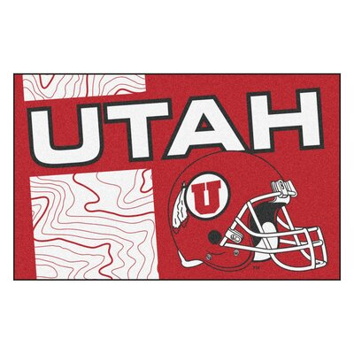 NCAA University of Utah Starter Mat