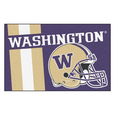 NCAA University of Washington Starter Doormat