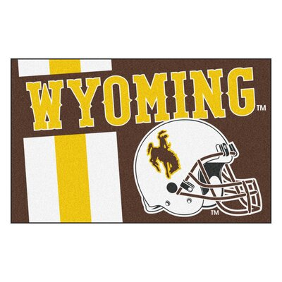 NCAA University of Wyoming Starter Doormat