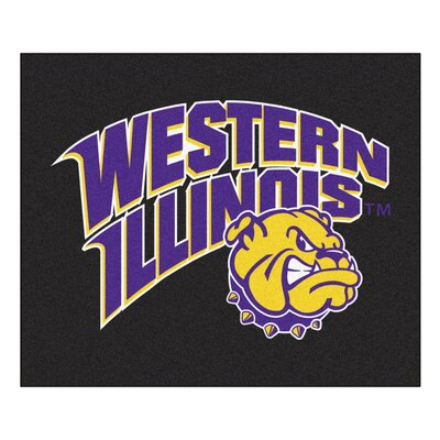 NCAA Western Illinois University Indoor/Outdoor Area Rug