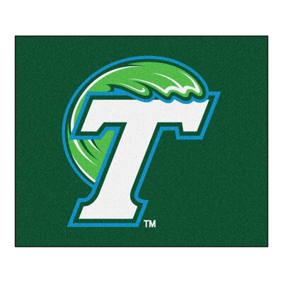 NCAA Tulane University Indoor/Outdoor Area Rug