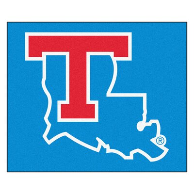 NCAA Louisiana Tech University Indoor/Outdoor Area Rug