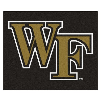NCAA Wake Forest University Indoor/Outdoor Area Rug