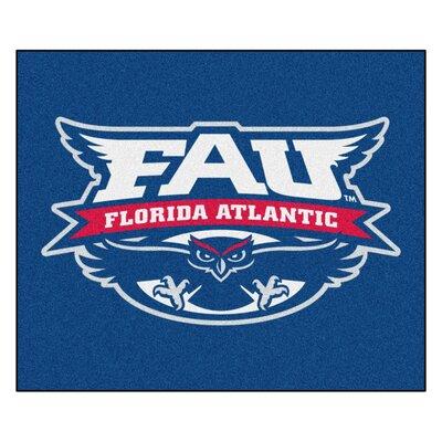 NCAA Florida Atlantic University Indoor/Outdoor Area Rug