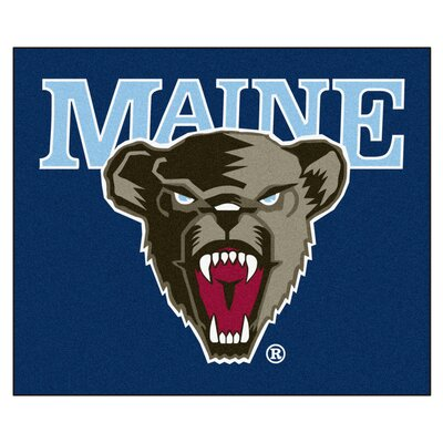 NCAA University of Maine Indoor/Outdoor Area Rug