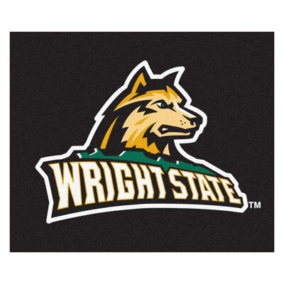NCAA Wright State University Indoor/Outdoor Area Rug