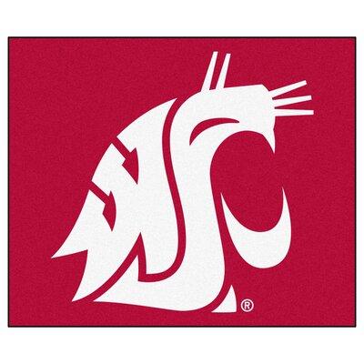 NCAA Washington State University Indoor/Outdoor Area Rug