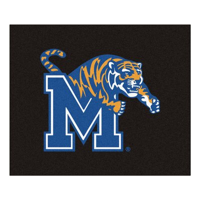 NCAA University of Memphis Indoor/Outdoor Area Rug