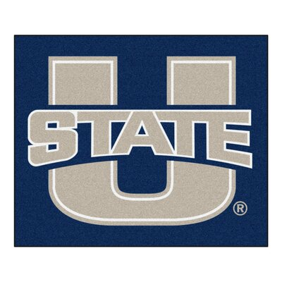 NCAA Utah State University Indoor/Outdoor Area Rug