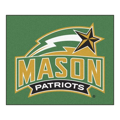 NCAA George Mason University Indoor/Outdoor Area Rug