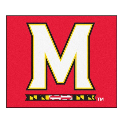 NCAA University of Maryland Indoor/Outdoor Area Rug