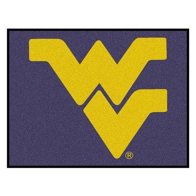 NCAA West Virginia University Indoor/Outdoor Area Rug