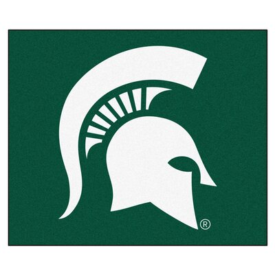 NCAA Michigan State University Indoor/Outdoor Area Rug