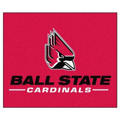 NCAA Ball State University Indoor/Outdoor Area Rug