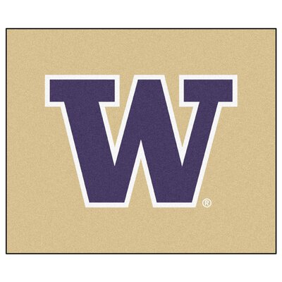 NCAA University of Washington Indoor/Outdoor Area Rug