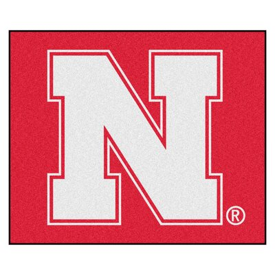 NCAA University of Nebraska Indoor/Outdoor Area Rug