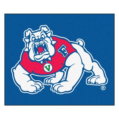 NCAA Fresno State Indoor/Outdoor Area Rug