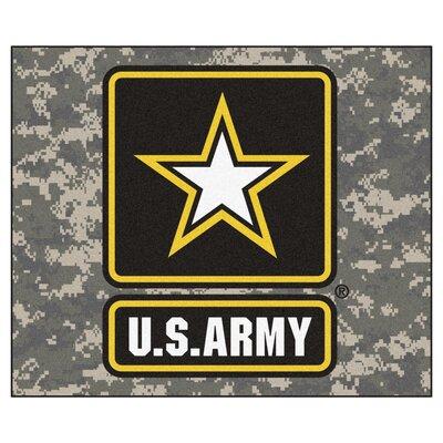 MIL U.S. Army Doormat Rug Size: 5 x 6