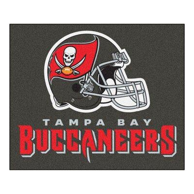 NFL - Tampa Bay Buccaneers Doormat Rug Size: 5 x 6
