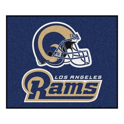 NFL - Los Angeles Rams Starter Doormat Rug Size: 5 x 6