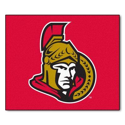 NHL - Ottawa Senators Doormat Mat Size: 5 x 511