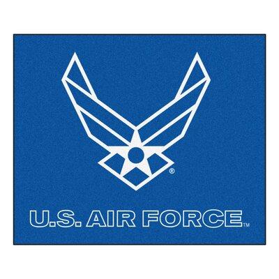 MIL U.S. Air Force Doormat Rug Size: 5 x 6