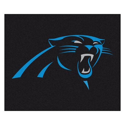 NFL - Carolina Panthers Doormat Rug Size: 5 x 6