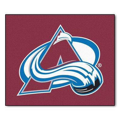NHL - NCAAorado Avalanche Doormat Mat Size: 5 x 6