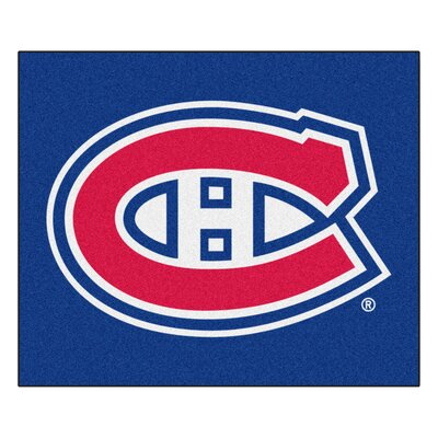 NHL - Montreal Canadiens Doormat Rug Size: 5 x 511