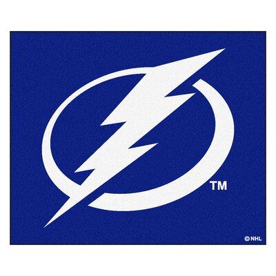 NHL - Tampa Bay Lightning Doormat Mat Size: 5' x 6'