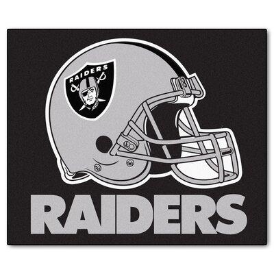 NFL - Oakland Raiders Doormat Rug Size: 5 x 6