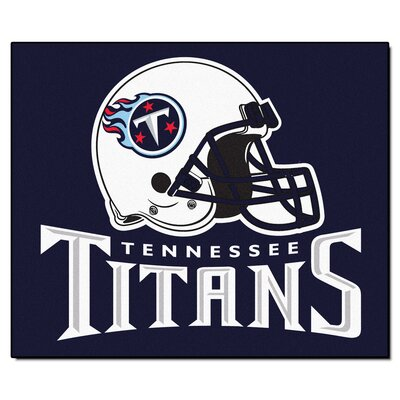 NFL - Tennessee Titans Doormat Rug Size: 5 x 6