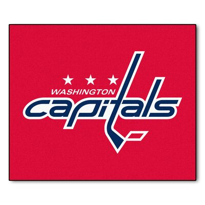 NHL - Washington Capitals Doormat Mat Size: 5 x 6
