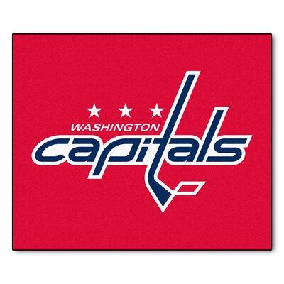 NHL - Washington Capitals Doormat Rug Size: 5 x 6