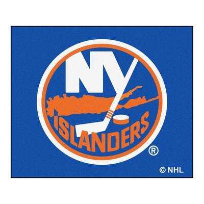 NHL - New York Islanders Doormat Mat Size: 5 x 6