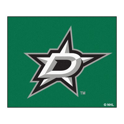 NHL - Dallas Stars Doormat Rug Size: 5 x 6