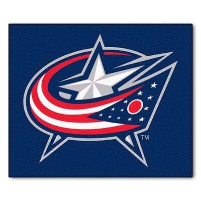 NHL - NCAAumbus Blue Jackets Doormat Rug Size: 5 x 6