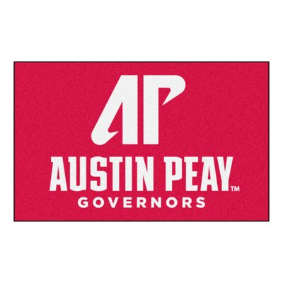 Collegiate NCAA Austin Peay State University Doormat