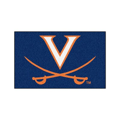 Collegiate NCAA University of Virginia Doormat