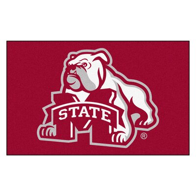 Collegiate NCAA Mississippi State University Doormat
