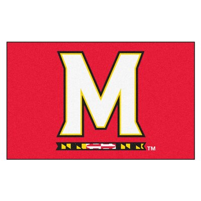 Collegiate NCAA University of Maryland Doormat