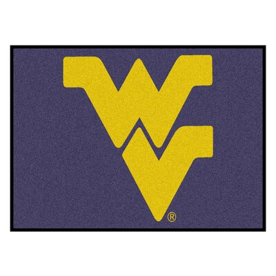Collegiate NCAA West Virginia University Doormat