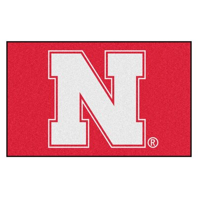 Collegiate NCAA University of Nebraska Doormat