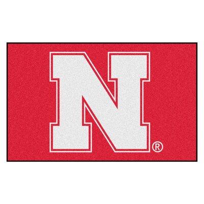 Collegiate NCAA University of Nebraska Doormat