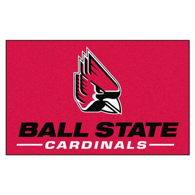 Collegiate NCAA Ball State University Doormat