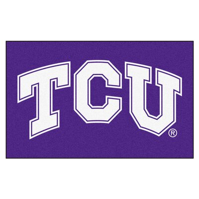 Collegiate NCAA Texas Christian University Doormat