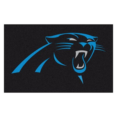 NFL - Carolina Panthers Doormat Mat Size: 5 x 8