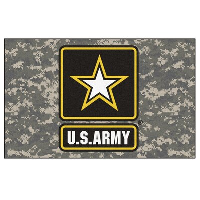 MIL U.S. Army Doormat Mat Size: 5 x 8