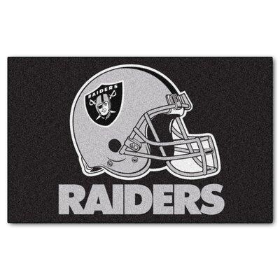NFL - Oakland Raiders Doormat Mat Size: 5 x 8